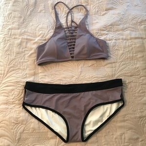 NWOT Victoria's Secret PINK Lavender Bikini